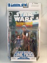 Star Wars Shadows of the Empire Comic Pack #4 - Leia Organa & Prince Xizor