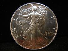 1986 American Silver Eagle,.999 Fine Silver , 1 Troy Oz.