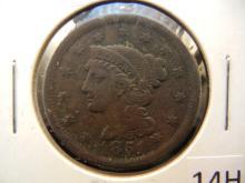 1851 Coronet Head Large Cent