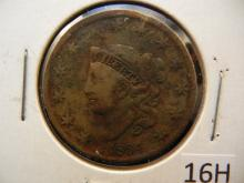 1834 Coronet Head Large Cent
