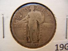 1927 -S Standing Liberty Quarter, Key Date