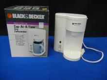 Black & Decker Cup at a Time Drip Coffee maker
