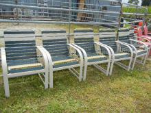 6 Outdoor Lawn Chairs - No Shipping Pick Up Only