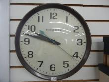 Bonded Oil Electric Clock Runs & Keeps Time