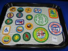 Girl Scout Patches & Merit Patches