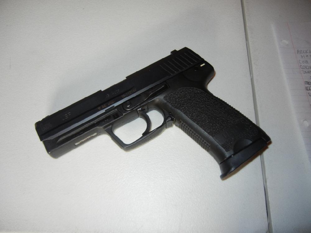 Heckler & Koch (H&K) USP .45 Cal. Hand Gun;