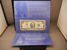 1995 Independence $2 Uncirculated Star Note