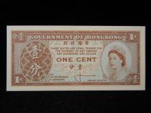 1 Cent Banknote from Hong Kong