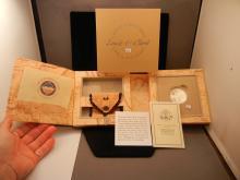 Lewis & Clark Coin & Pouch Set