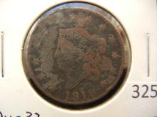 1819 Coronet Large Cent