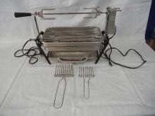 Farberware Open Hearth Electric Grill w/Rotisserie