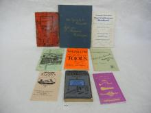 Lot of Vintage Tool Hand Books