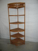 Ratan Corner Shelf