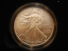 2008 W Silver Eagle.  Brilliant Unc in Original Box plus certificate!