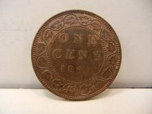 1904 Canadian Large Cent