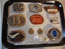 8 Belt Buckles