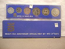 1973 Israel 25th Anniversary Official Mint Set