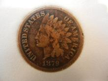 1879 Indian Head Cent  Key Date
