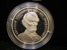 1861-1865 Abraham Lincoln Comm. Coin