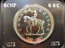 1973 Canadian Dollar RCMP/GRC