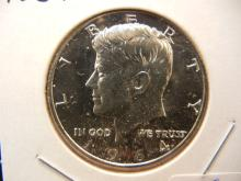 1964 Kennedy Silver Half.  GEM Proof.