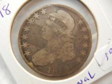 1818 Capped Bust Half Dollar.  Original and nice investment.
