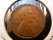 1914-S Lincoln Wheat Cent  Key Date