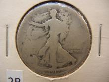 1971-D Walking Liberty Half Dollar Reverse Mint Mark