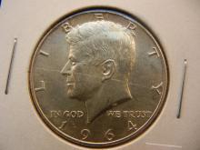 1964 -D Kennedy Half Dollar