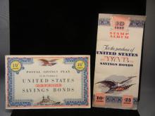 2-Booklets of US Savings Bonds