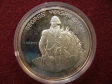 1982 George Washington Commemorative Half.  GEM Proof in original box.