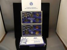 2002-S US Clad Proof Set in original box.