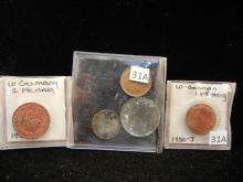 5 Foreign Coins -  German & others