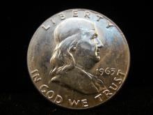 1963 Franklin Fifty Cent Piece