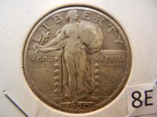 1930 Standing Liberty Quarter,