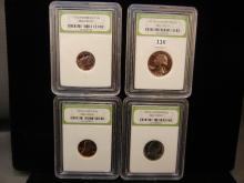 1973 S Gem Proof Set of Quarter, Dime, Nickel, Penny