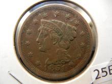 1851 Large Cent ,
