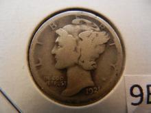 1921 Mercury Dime *  Key Date ,