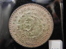 1962 Mexican Un Peso