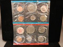 1972 Unc. Coin Set P & D Mint Marks