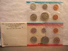 1972-P&D Unc. Coin Set