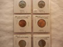 6- 1970s & 1980s BU Jefferson Nickels