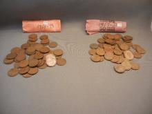 50-1950-D & 50-1957-D Lincoln Wheat Cents
