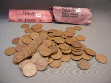100-1944  Lincoln Wheat Cents