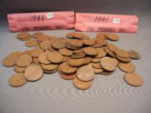 100-1941 Lincoln Wheat Cents