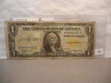 1935-A North Africa Emergency Currency silver Certificate.  Fine.