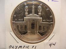 1984 P Olympic Commemorative Silver Dollar. GEM Proof.