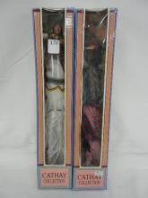 2-Cathay Collection Dolls