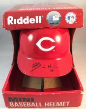 Billy Hamilton Autographed Riddell Mini Helmet