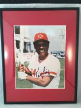 Tony Perez Autographed 8x10 - Framed & Matted